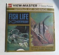 Fish Life  Ichthyology   View Master  Packet  1970