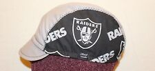 Cycling cap RAIDERS  one size 100% COTTON   handmade new