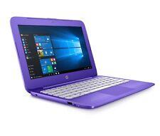 "NEW HP STREAM 11-AH113WM 11.6"" LAPTOP CELERON N4000 2.6GHZ 4GB 32GB EMMC PURPLE"
