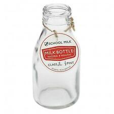 dotcomgiftshop Traditional School Milk Bottle