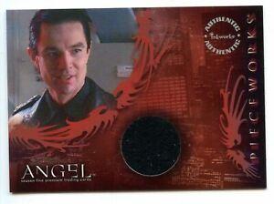 Angel Season 5 James Marsters as Spike Pieceworks Costume Card PW6