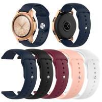 1pc 20mm Silicone Wrist Strap Watch Band for Samsung Galaxy Watch 42mm SM-R815