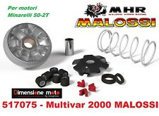 517075 - Variatore/Rulli/Molla Multivar-2000 MALOSSI per YAMAHA Aerox 50 2T