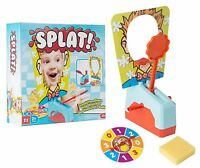 Splat Activity Game Pie Face Children Family Fun 4 Player Toy Set 4 Years+ Multi