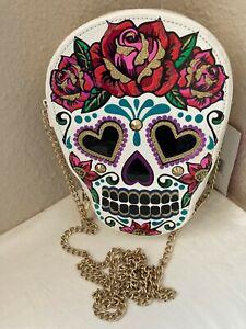 NWT-Betsey Johnson Sugar Skull crossbody purse