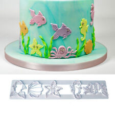 Ocean Fish Animals Cookie Cutter Fondant Icing Cake Decorating Tool Mould Mold
