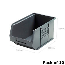 XL3 Grey Picking Bin Size 3 (10 Pack) Recycled Plastic