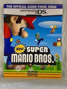 Nintendo Power Official Guide New Super Mario Bros. Nintendo DS