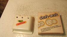 Vintage Dekalb Seed Dash Cash Coin Holder NIB