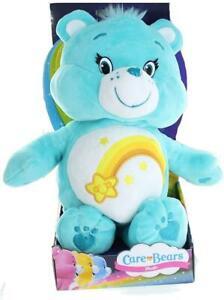 "CloudCo Care Bear WISH BEAR 12"" Shooting Star Soft Plush Toy"