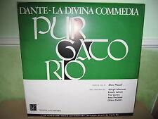 I 30 DISCOLIBRI DELLA LETTERATURA ITALIANA - Dante Purgatorio vinile + libro