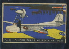 1936 F-277-2 Heinz Famous Airplanes Card #23 Amphibian Privateer