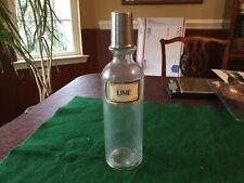 Soda Syrup Bottle Lime