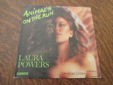 45 Tours Laura Powers - Animal's on the run