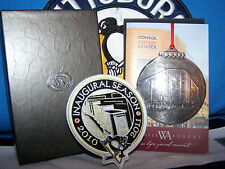 PITTSBURGH PENGUINS CONSOL ENERGY CENTER ORNAMENT FROM WENDELL AUGUST FORGE