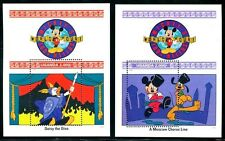 Uganda 988-989  Disney characters on World Tour 1992 x14676a