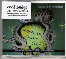(AJ518) American Music Club, Ladies & Gentlemen - DJ CD
