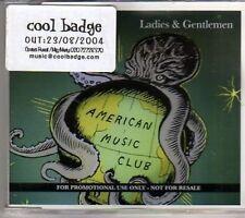 (AJ518) American Music Club, Ladies & Gentlemen - DJ CD