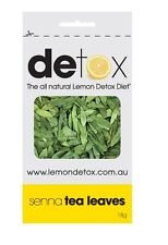 LAXATIVE & DETOX ORGANIC SENNA TEA LEAVES 18G RESEALABLE PACKAGING PACK OF 10