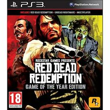 RED DEAD REDEMPTION GAME OF THE YEAR GOTY EDITION - PS3 - ITA - NUOVO