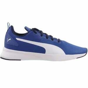 Puma Flyer Runner Galaxy Blue / White Mesh Running Shoes Trainers UK 6.5 - 10.5