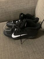 NEW Nike Force Trout 5 Pro Metal Baseball Cleats Black  Mens Size 10.5