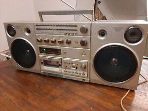 Philips D8614  Stereo Sound Machine Ghettoblaster Boombox Vintage (relist)