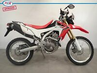 Honda CRF 250 Red 2014 Spares or Repair Restoration Project Bike Damaged