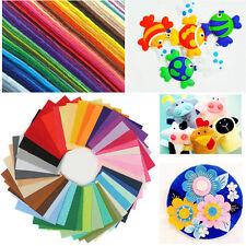 40pcs Acrylic Blend Felt Non-woven Fabric Mix Color DIY Craft Quilting 30*20cm A
