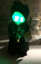 NEW Gemmy Grim Reaper Saxophone Who Can It Be Dancing Singing Animated Halloween