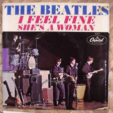 Beatles She's a Woman East Coast Sleeve VG++