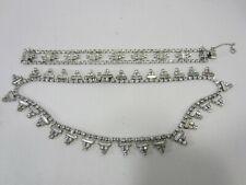 Vintage Kramer Rhinestone Necklace & Matching Bracelet