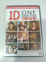 One Direction 1D This is Us Version Cinematografica - DVD Region 2 Nuevo