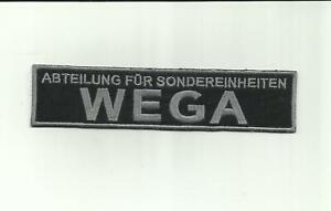 Abzeichen Polizei - WEGA