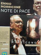 ENNIO MORRICONE CD+DVD NOTE DI PACE CONCERTO SAN MARCO VENEZIA .LA REPUBBLICA