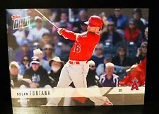 (35) 2018 Topps Now Angels RTOD Road to Opening Day Nolan Fontana 35 Card Lot