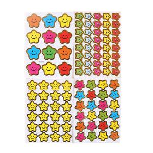 Mother Teacher Praise Label Reward Sticker Star Stickers Smile Stars Decal