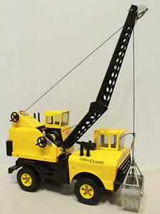 TONKA Mighty Mobile Crane Canadian #3940 Steel 1970's Rare 4.3 KG - 250