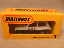 MATCHBOX SUPERFAST JAPAN ISSUE MB-8 RANGE ROVER POLICE CAR NEW MIB