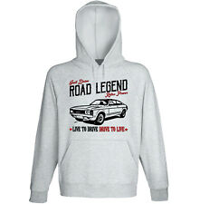 Ford Granada - GREY HOODIE - ALL SIZES IN STOCK