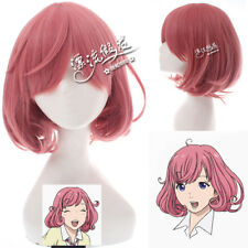 Noragami Kofuku Cherry Pink Cosplay Anime Costume party Hair Wig heat resistant