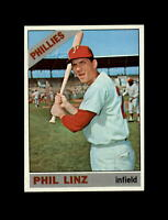 1966 Topps Baseball #522 Phil Linz (Phillies) NM