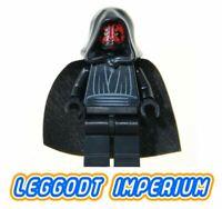 LEGO Minifigure Star Wars - Darth Maul - sw003 hood cape minifig FREE POST
