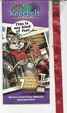 Vintage 2009 Knoebels amusement Park brochure Elysburg Pa.  FREE SHIPPING