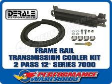 DERALE 12 INCH 2 PASS COPPER/ALUMINIUM FRAME RAIL TRANSMISSION COOLER 13222