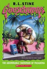 The Abominable Snowman of Pasadena by R. L. Stine
