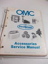 OMC 1984 Accessories Service Manuals 174156-1 thru 174516-9 All Included w/purch