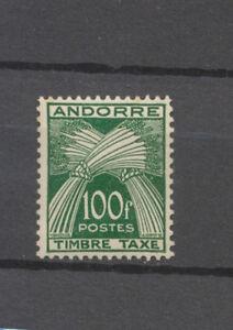 Timbre Andorre francais Taxe n°41 Neuf ** Cote 147€ N3220