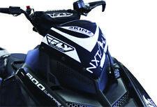 Skinz NXT LVL Snowmobile Windshield Pack Blk/Wht for Polaris Pro RMK, Rush 11-15