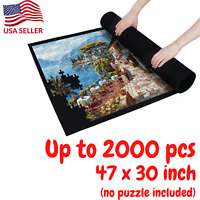 Puzzle Roll Up Mat Large Jigsaw Puzzles Mat Roll Up 2000 Pieces Puzzles 47 x 30